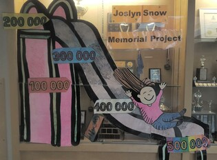 The Joslyn Snow Memorial Project Committee is excited to announce that they have received a grant from the Community Facility Enhancement Program (CFEP) in the amount of $125,000 making the grand total raised to date $458,938.44.